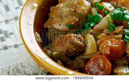 Estonian Stew Pork