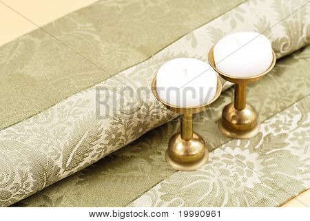 Home Decorative Candles And Stand