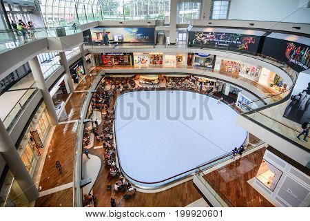 The Shoppes At Marina Bay Sands In Singapore