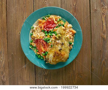Arroz Con Pollo A La Mexicana