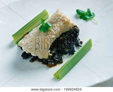 Cod With Caramelized Onions