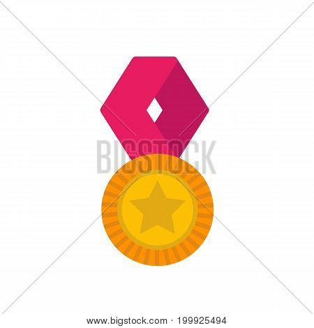 medal vector icon, eps 10 file, easy to edit