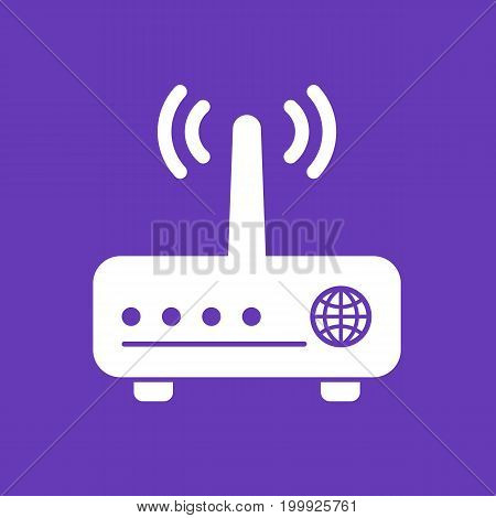 Router, modem vector icon, eps 10 file, easy to edit