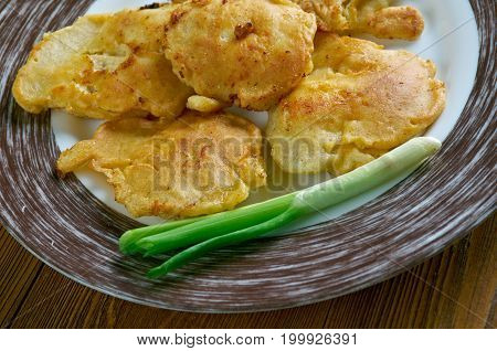 Cod Pancake Like Fritters