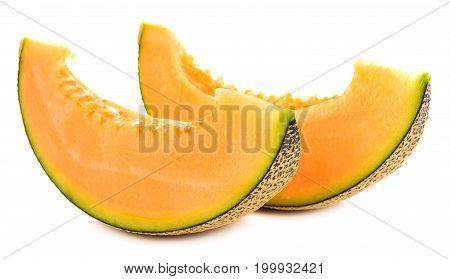cantaloupe melon slices water, vegetable, health, dessert