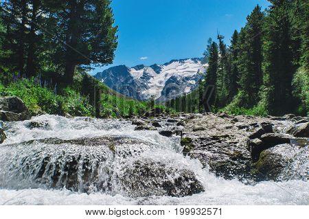 Cascade Mountain River.