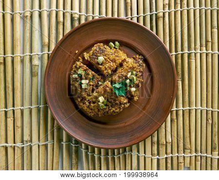 Kibbeh Levantine Dish