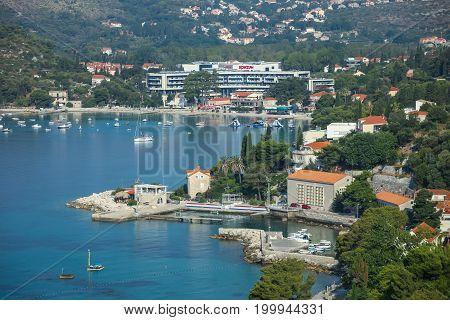 Mlini On Mediterranean Coast