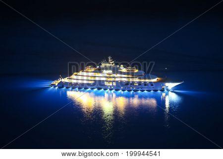 Yacht In Adriatic Sea