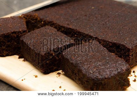 Parkin Traditional Bonfire night piece of parkin cake