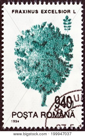 ROMANIA - CIRCA 1994: A stamp printed in Romania from the
