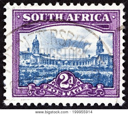 SOUTH AFRICA - CIRCA 1950: A stamp printed in South Africa from the