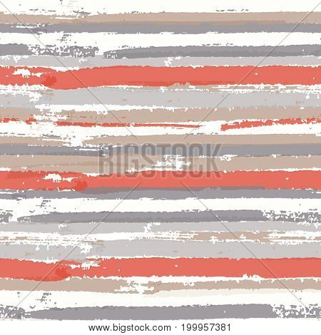Seamless pattern with color paint stripes. Abstract background for fashion print, wallpaper design