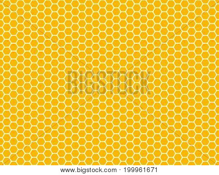 Honeycomb seamless pattern, texture. Vector hexagon background