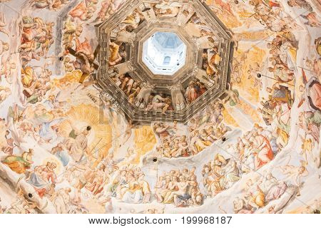 Basilica Of The Holy Cross)n Florence City