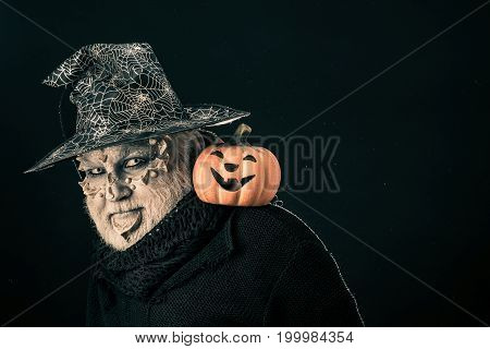 Magic And Halloween Concept