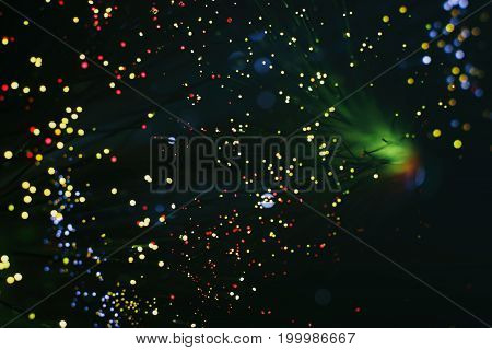 Background With Lots Of Light Spots