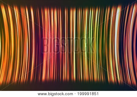 Abstract Motion Background With Colorful Stripes