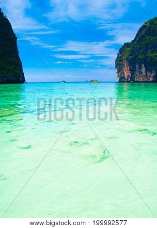 Tranquil Waters Caribbean Blue