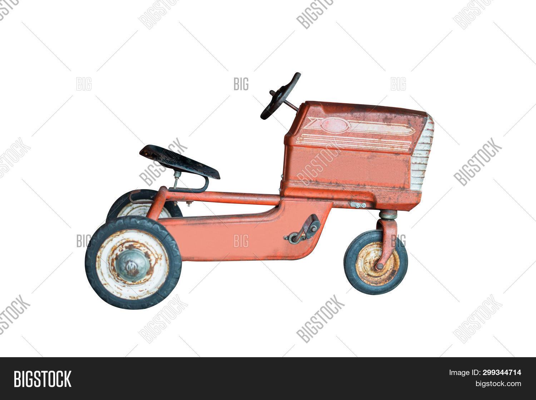 Retro Tricycle Image Photo Free Trial Bigstock