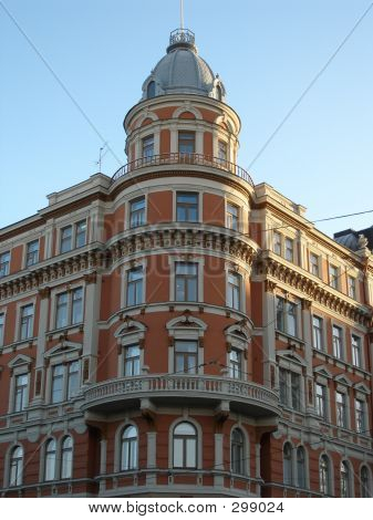 Red Corner Building