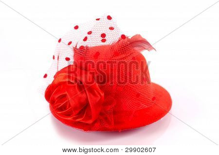 Red Hat Isolated On White