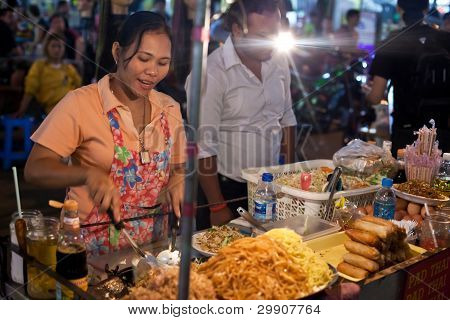 Street Cooking