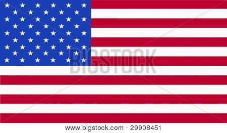Illustration of the USA flag