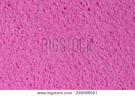 Gently Pink Ethylene Vinyl Acetate, Eva Porous Texture.