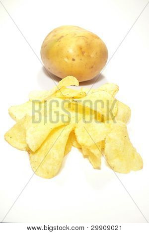 Chips and potato