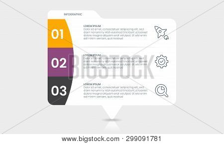Business Infographics Template Infographic Presentation Concept. Marketing Strategy. Workflow Busine