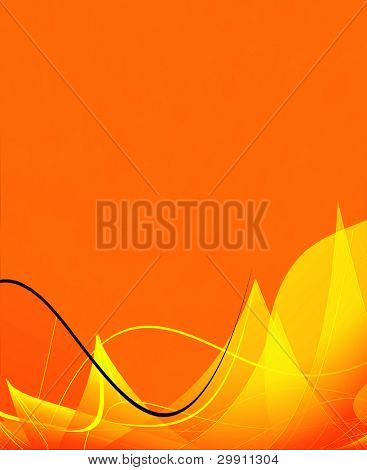 Abstract silky background