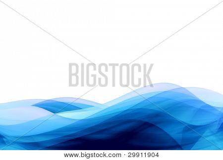 blue waves illustration no: 3