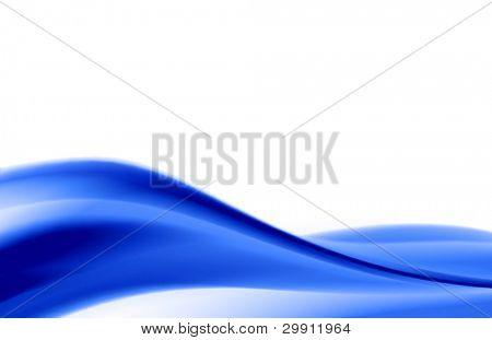 blue waves illustration no: 6