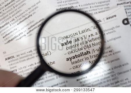 Word Phrase Axle Image & Photo (Free Trial) | Bigstock