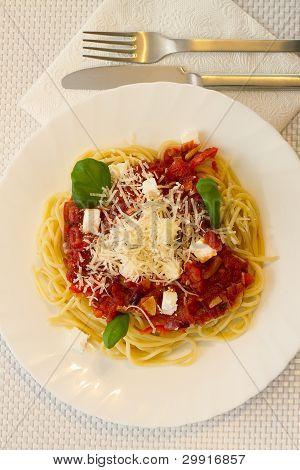 Bolonhesa espaguete