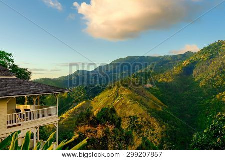 The Blue Mountains, Jamaica, Dec 2018, Strawberry Hill Hotel House