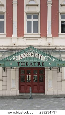 Ornate Entrance To The Lyceum Theatre, Sheffield, South Yorkshire, Uk - September 2013
