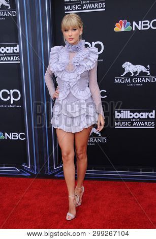 Taylor Swift at the 2019 Billboard Music Awards held at the MGM Grand Garden Arena in Las Vegas, USA on May 1, 2019.