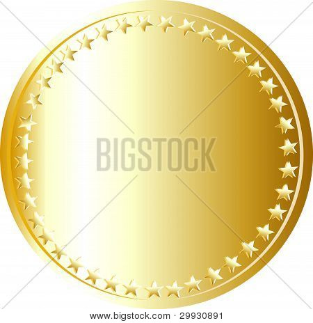 gold coin template