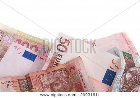 some banknotes of different countries