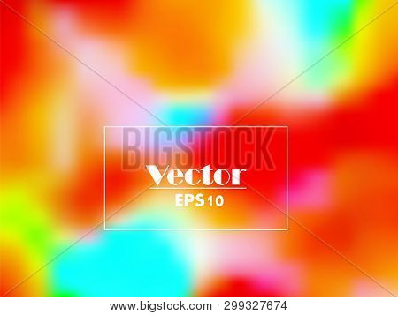 Electronic Music Fest Summer Wave Poster. Club Party Flyer. Abstract Gradients Waves Music Backgroun