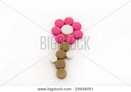 Flower From Tablets.