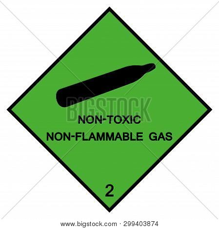 Non -toxic Symbol Sign ,vector Illustration, Isolate On White Background Label .eps10