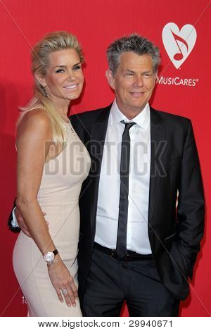 vLOS ANGELES - FEB 10:  David Foster arrives at the 2012 MusiCares Gala honoring Paul McCartney at LA Convention Center on February 10, 2012 in Los Angeles, CA