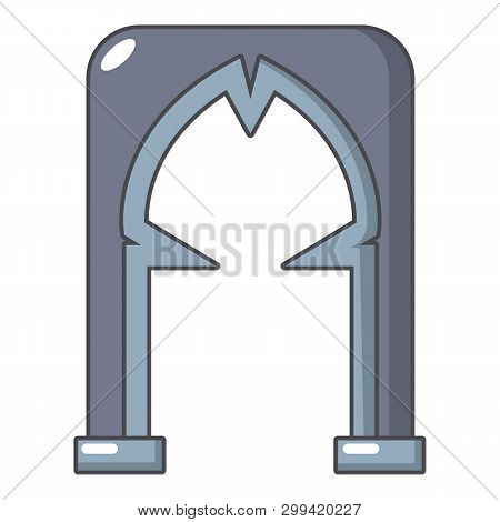 Archway Villain Icon. Cartoon Illustration Of Archway Villain Icon For Web