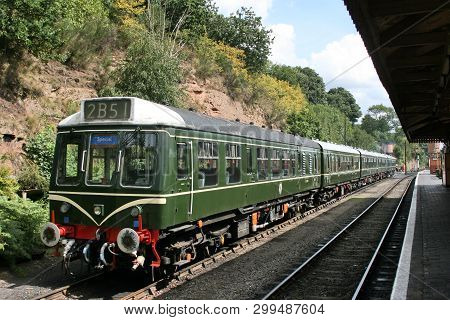 Severn Valley Railway, County Durham, Uk, September 2009, View Of The Historic Severn Valley Railway