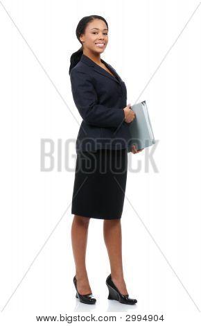 Business-Frau.