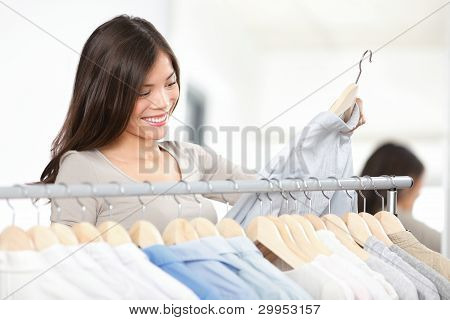 Shopper Woman Shopping Clothes