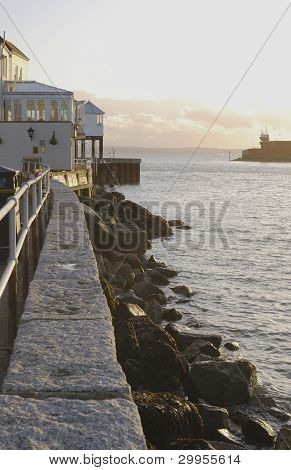 Entrance To Harbour. Portsmouth. UK